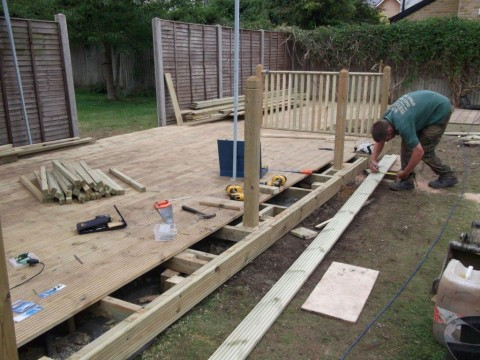 Decking in progress 03